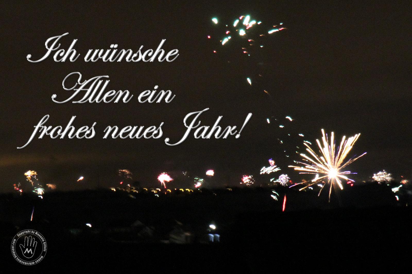 Mikrokosmos: Ein frohes neues Jahr!