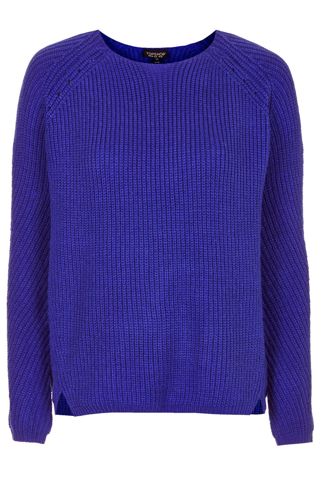 royal blue knitted jumper