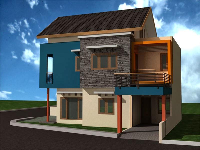Kumpulan desain rumah model terbaru dan terbaik