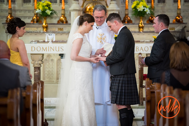 Saint Ninian's & Holy Family RC Church, Kirkintilloch wedding photography