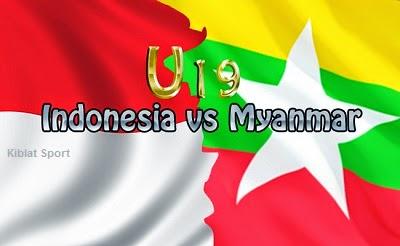 Jadwal Timnas Indonesia U19 Vs Myanmar U19