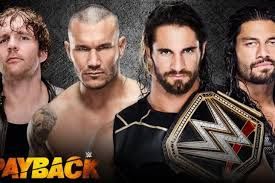 Reigns Ambrose Seth Rollins WWE Championship Fatal 4 Way