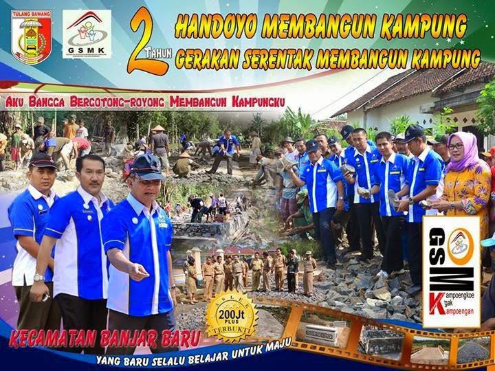 Dua Tahun HANDOYO Membangun Kampung, Dua Tahun GSMK Kecamatan Banjar Baru