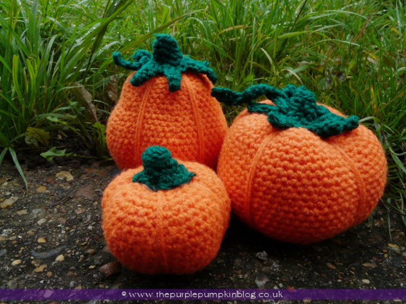 Amigurumi Japanese Meaning : Amigurumi Crochet Pumpkins The Purple Pumpkin Blog