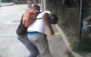 See The Heart-warming Moment Victim Knocks Out His Bully (Video, Photos)