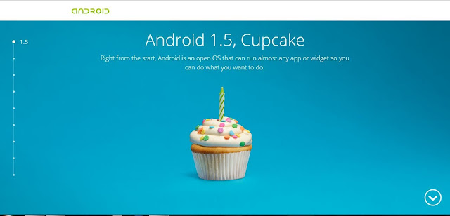 Android 1.5, Cupcake