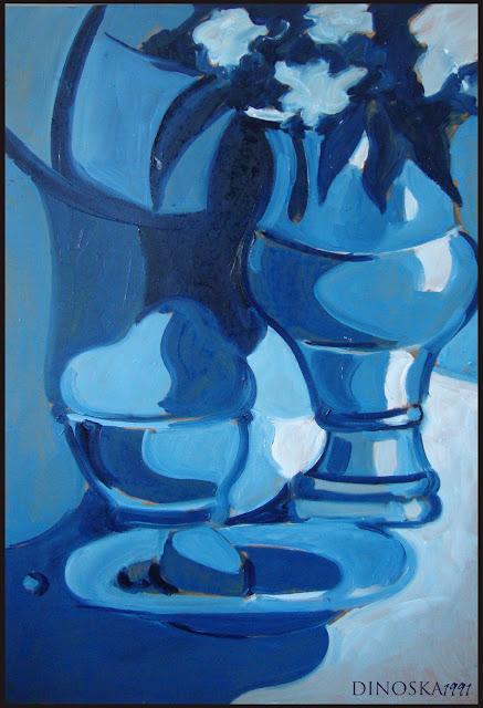 Ejemplos pinturas monocromáticas y acromáticas