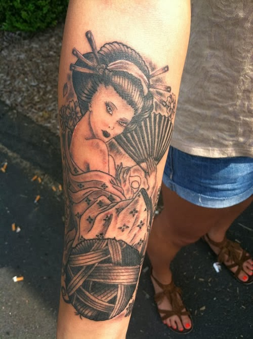 Modelos de tatuagem oriental