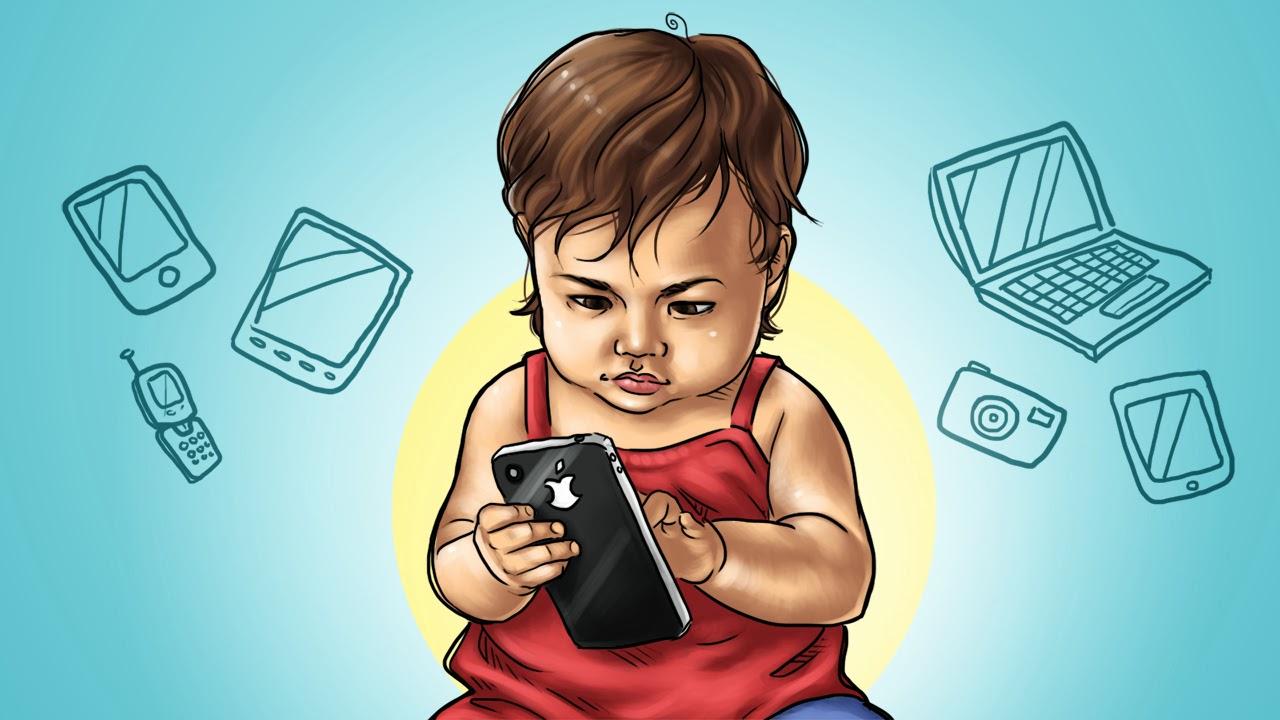 мобильные развивающие приложения для детей польза вред