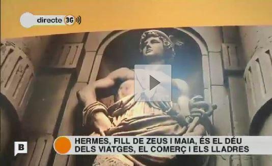 Reportaje en BTV sobre la Exposición de Hermes
