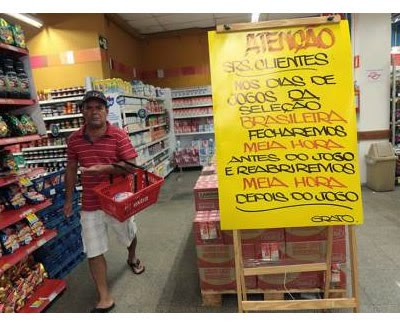 Comercios Cerraran en Brasil