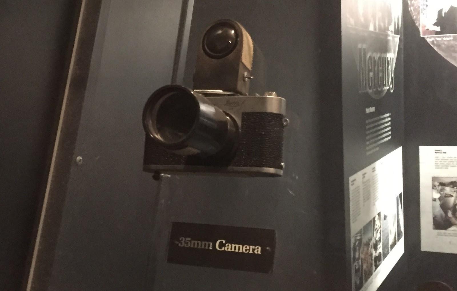 john glenn camera first orbit