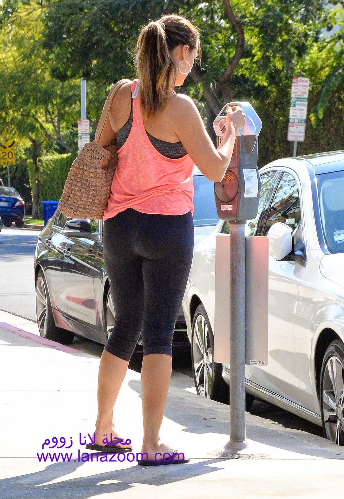 صور مؤخرة كيلي بروك المثيرة بعد خروجها من النادي