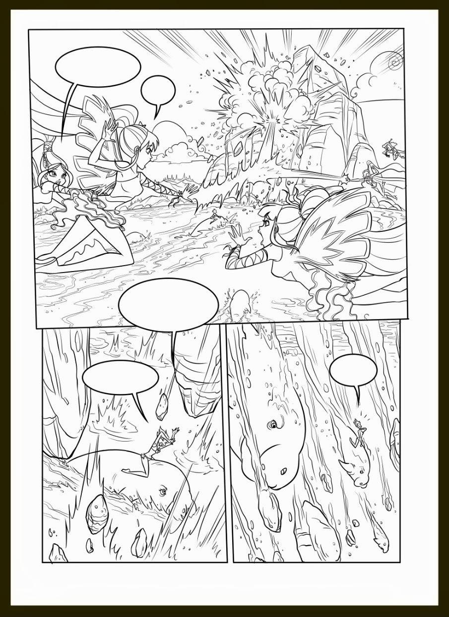 Poder de Winx Club: Colorear: Colorea un cómic oficial del Winx Club ...