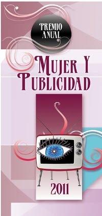 BLOG GANADOR DEL 2o. LUGAR CATEGORÍA GRÁFICOS DEL PREMIO ANUAL MUJER Y PUBLICIDAD 2011