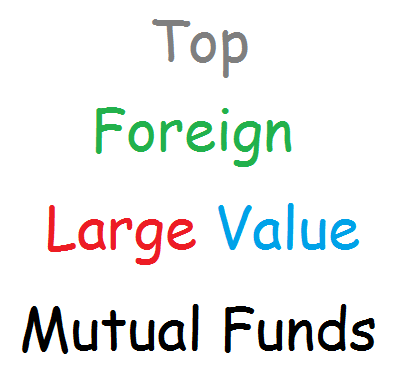 Foreign Large Value Mutual Funds