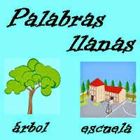 http://cplosangeles.juntaextremadura.net/web/lengua_tercer_ciclo/ortografia/tilde_llanas/llanas01.htm