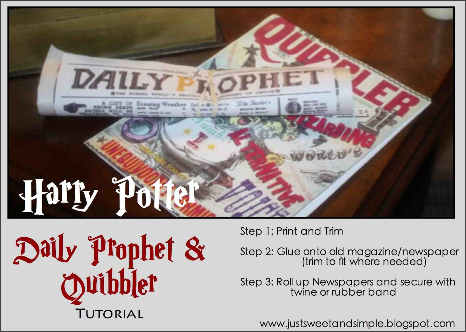 image about Quibbler Printable identify particularly Lovable and Basic: Harry Potter Everyday Prophet Quibbler