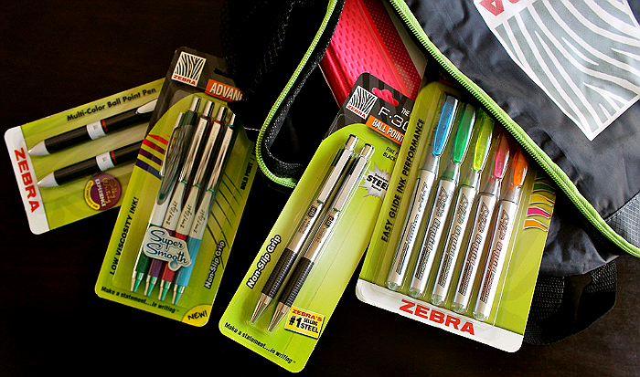 Beating the back to school madness with Penny Wise Office Products and Zebra pens.