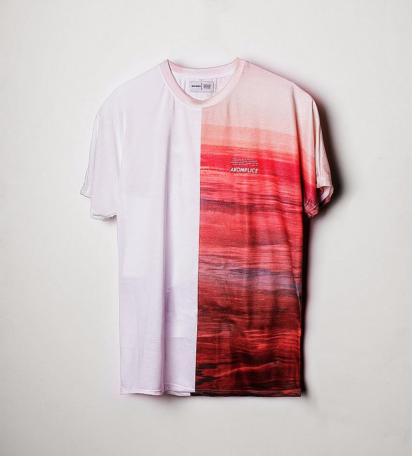 Thirdround Clothing - Akomplice Half Ocean Tee