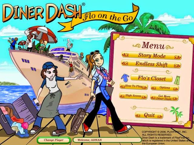 diner dash 3 flo on the go