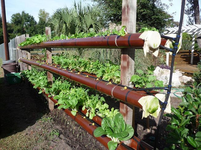 jardim vertical tubo pvc:4″ PVC Pipe Hydroponic Garden