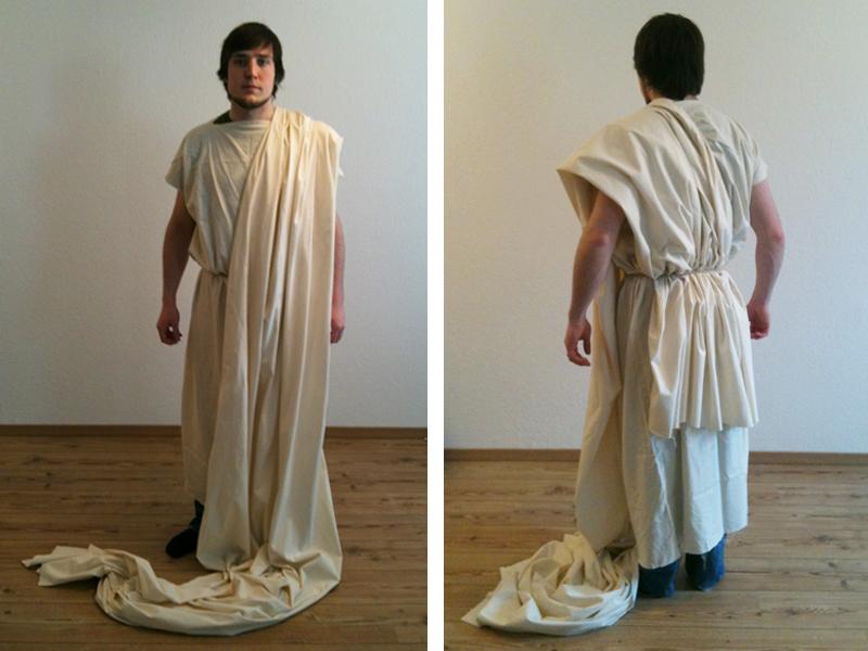 Götter des Olymp: Toga wickeln | von mri
