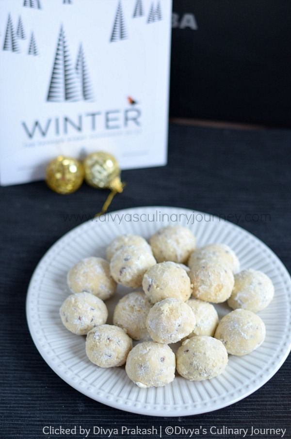 snowball cookies , Mexican wedding cookies, Russian tea cakes