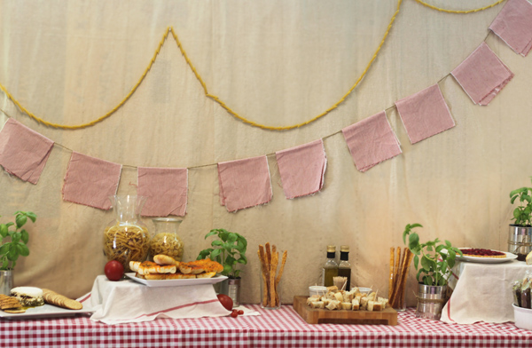 CAKE events design A Rustic Italian Luncheon