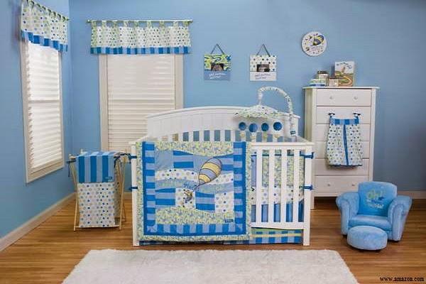 Une image chambre de bébé garçon