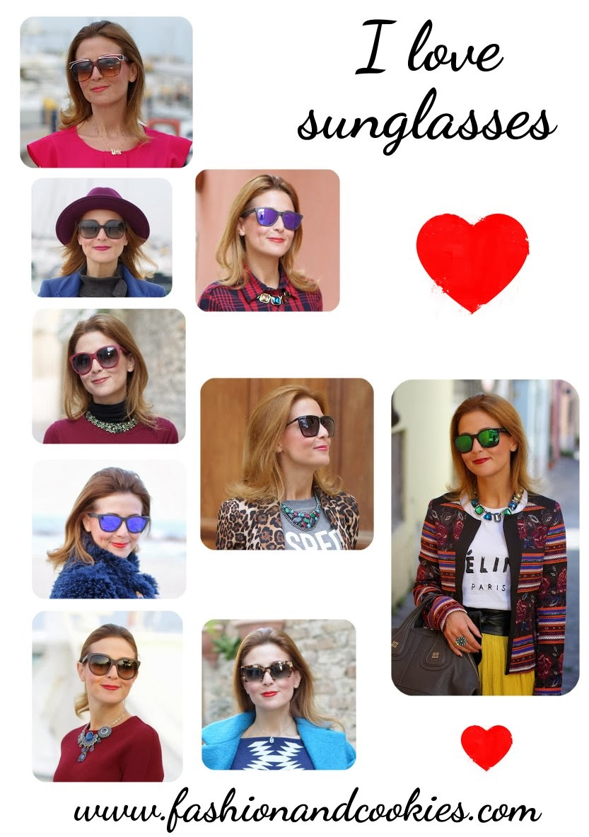 love sunglasses, Fashion and Cookies, fashion blogger, #inmycloset