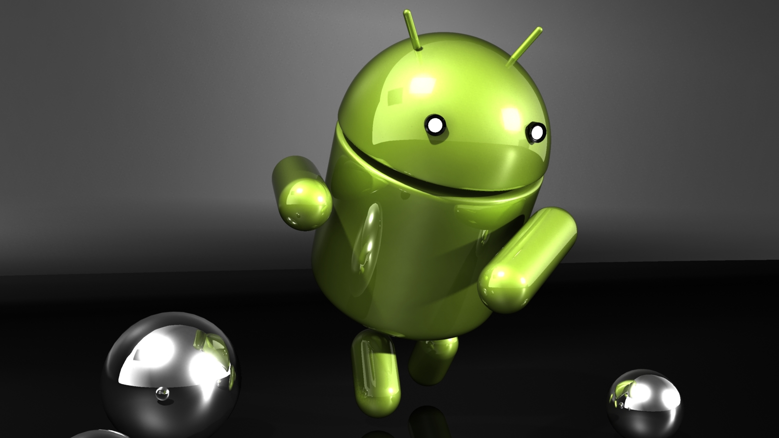 Dancing Android HD Wallpaper