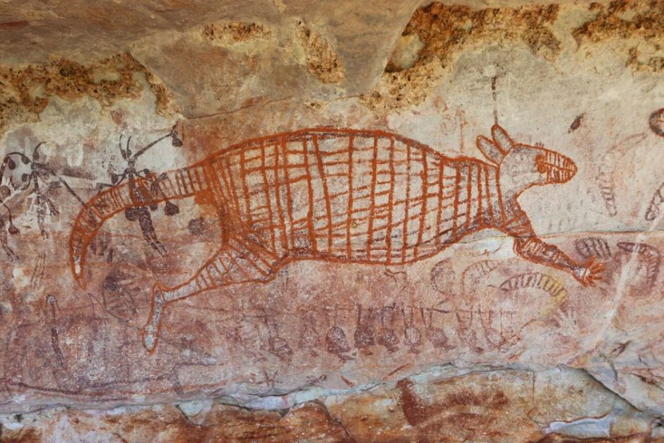 Aboriginal artwork in the kimberley could be among oldest