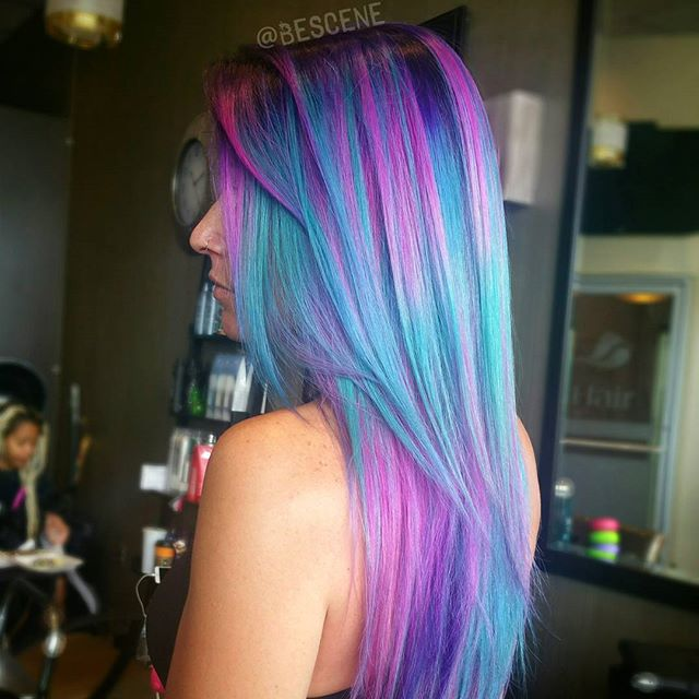 Stunning Hair Colors By Bescene Creative Team Usa