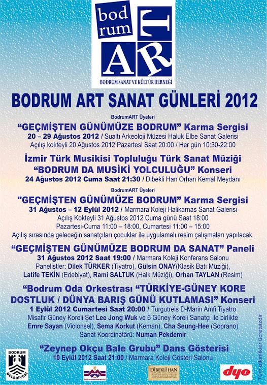 20 Ağustos 2012 BODRUMART SANAT GÜNLERİ