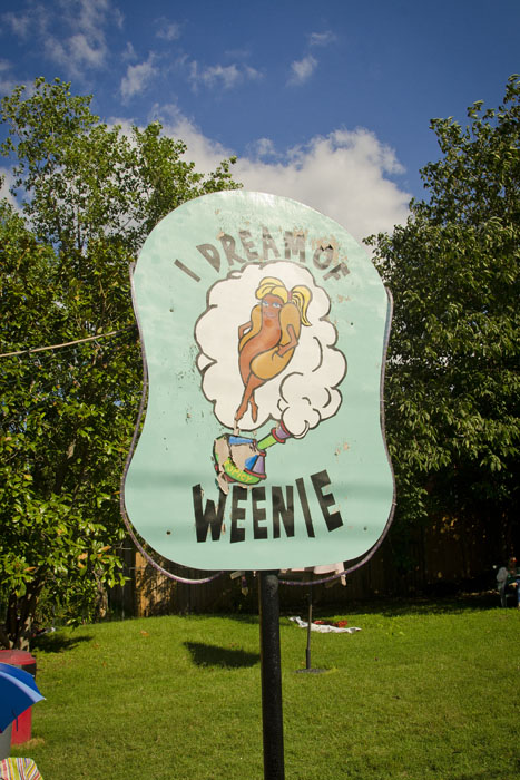 I Dream of Weenie at the Feastival food festival in Nashville Tennessee