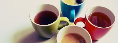 Facebook Cover Of Tea or Coffee.