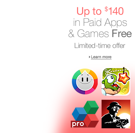 Get $140 worth of 37 PAID apps and games for FREE from Amazon' Appstore