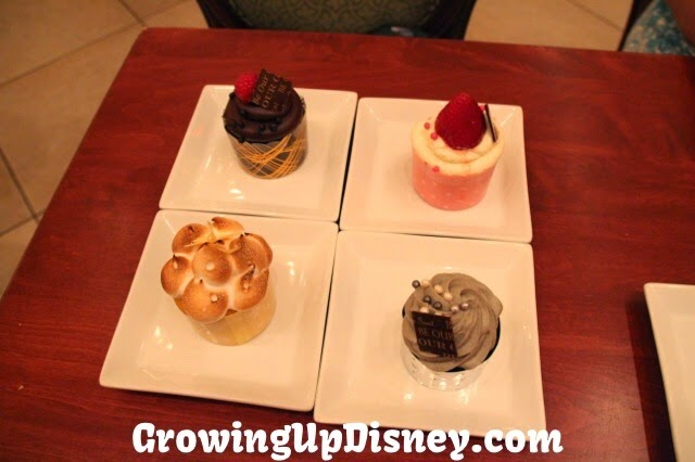 Be Our Guest restaurant, Magic Kingdom, Walt Disney World, Growing Up Disney, cupcakes