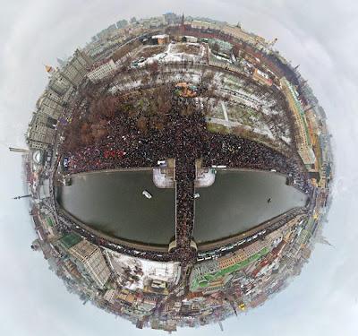 На фото: Москва, митинг протеста