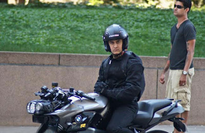 Leaked Photo: Aamir Khan on the set of Dhoom 3