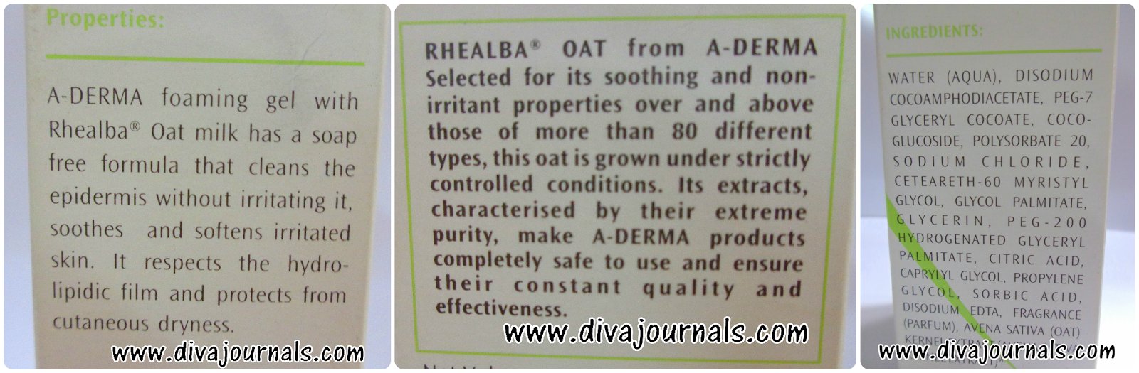 A-Derma Foaming Gel Review