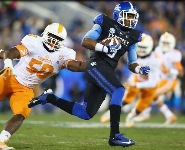 Kentucky Wildcats Uniform Tracker Week 14 Tennessee