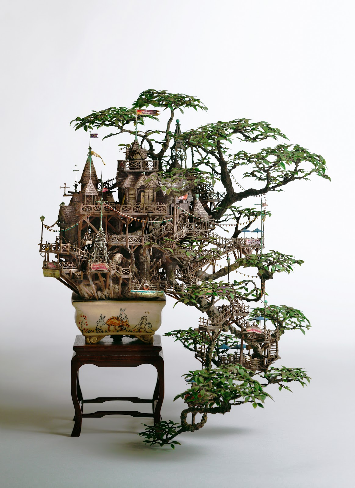 Simply Creative Bonsai Tree Houses By Takanori Aiba