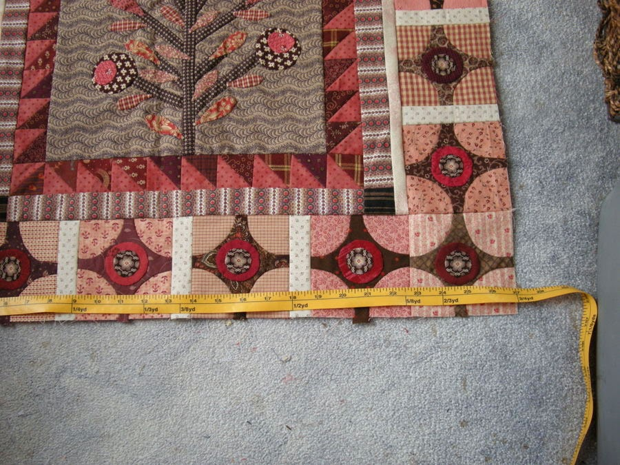 Quilty Folk: Measuring For a Coping Border When You Want to Make ... : pieced borders for quilts - Adamdwight.com