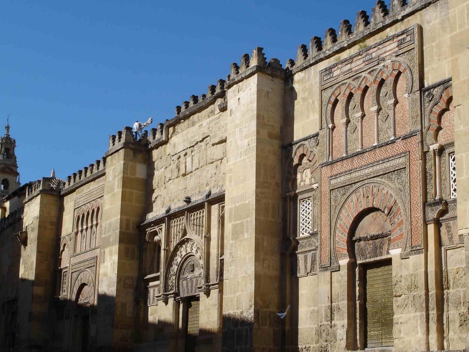 Ese arte mezquita de c rdoba for Exterior mezquita de cordoba
