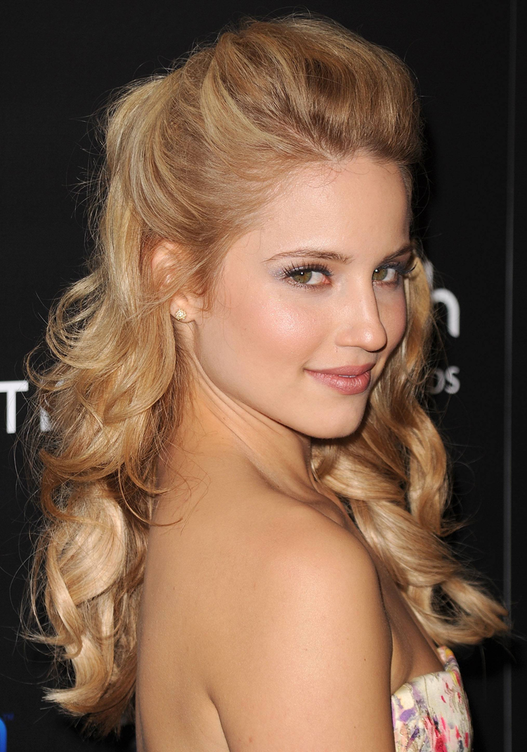 Fresh Look Celebrity Dianna Agron Hairstyles 51