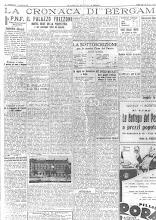 """10 AGOSTO 1932 """"LA VOCE DI BERGAMO"""""""