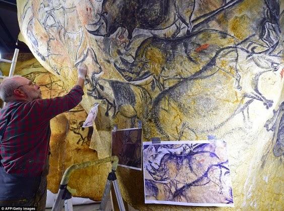 Grotte Chauvet okdest cave paintings