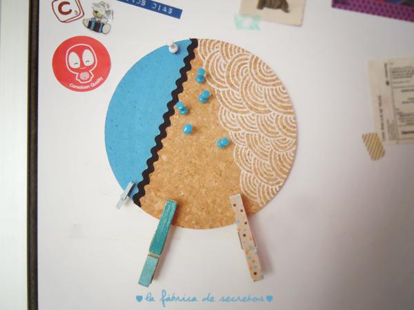 Diy tabl n de corcho handbox craft lovers comunidad for Tablon de corcho grande